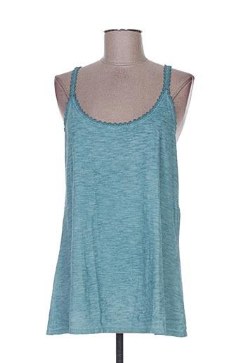 areline chemises femme de couleur bleu