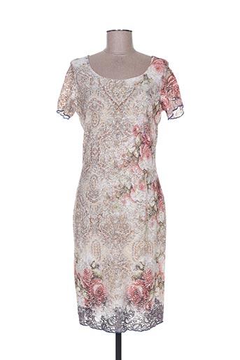 missy robes femme de couleur rose