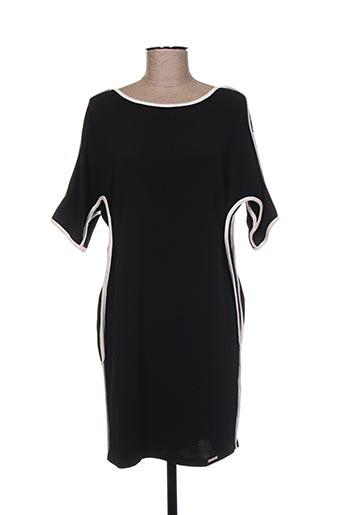 Robe mi-longue noir CICERO pour femme
