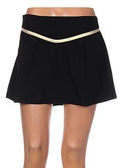 Jupe courte noir CLO&SE pour femme