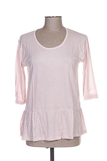 T-shirt manches longues rose CLO&SE pour femme