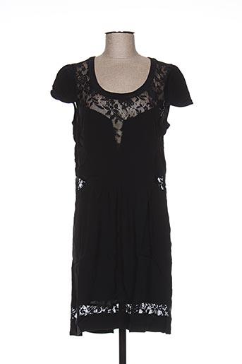 Robe mi-longue noir CLO&SE pour femme
