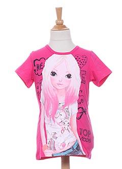 Produit-T-shirts-Fille-TOP MODEL