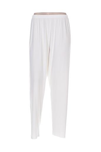 twister pantalons femme de couleur beige