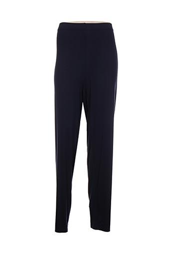 that's me by jagro pantalons femme de couleur bleu