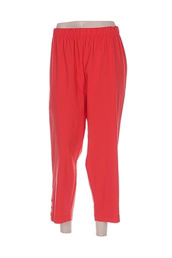 twister pantacourts femme de couleur rouge