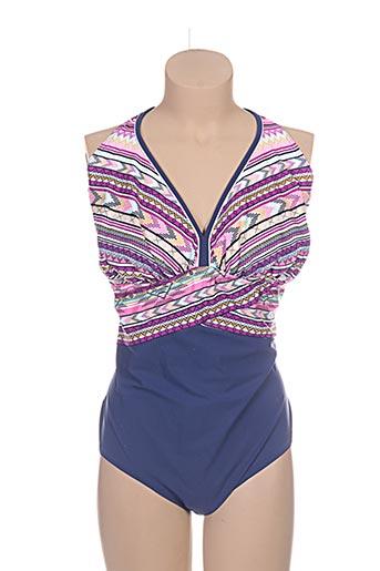 sunmarin maillots de bain femme de couleur violet