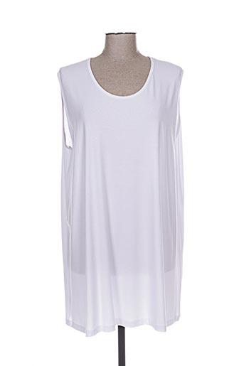 twister t-shirts femme de couleur blanc