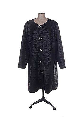twister manteaux femme de couleur noir