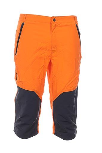 icepeak pantacourts garçon de couleur orange