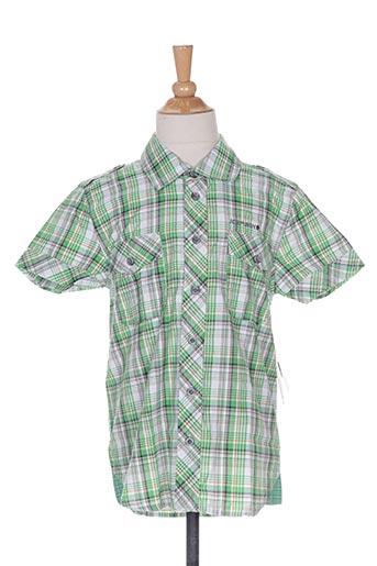 icepeak chemises garçon de couleur vert