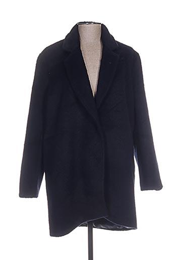 chattawak manteaux femme de couleur bleu