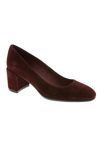 patricia miller chaussures femme de couleur rouge