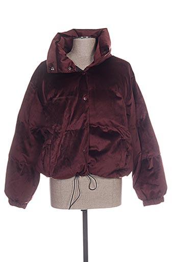 grace EFFI_CHAR_1 mila vestes femme de couleur rouge