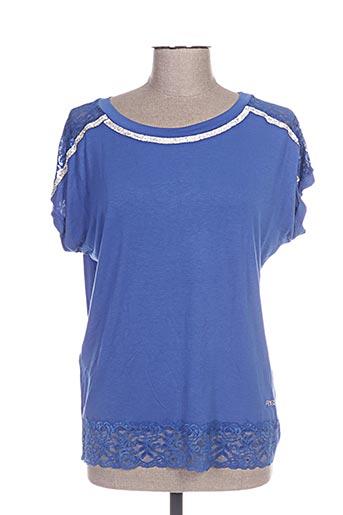 fly girl chemises femme de couleur bleu
