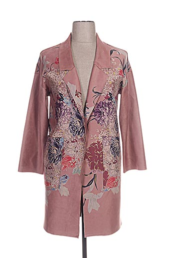 sweet miss manteaux femme de couleur rose