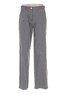 Pantalon casual gris E & H pour femme