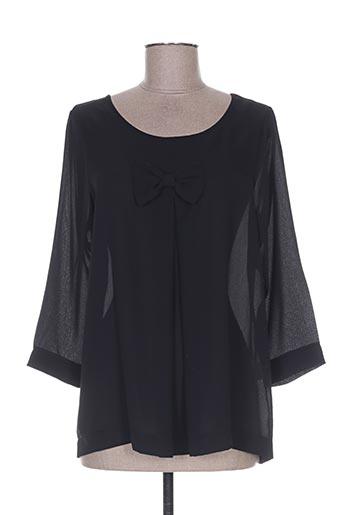 les bonheurs de sophie chemises femme de couleur noir