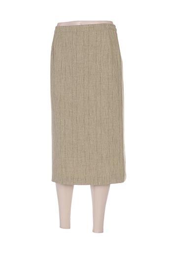Jupe mi-longue vert COUTUREINE pour femme