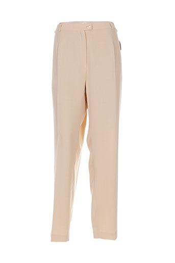 Pantalon chic beige COUTUREINE pour femme