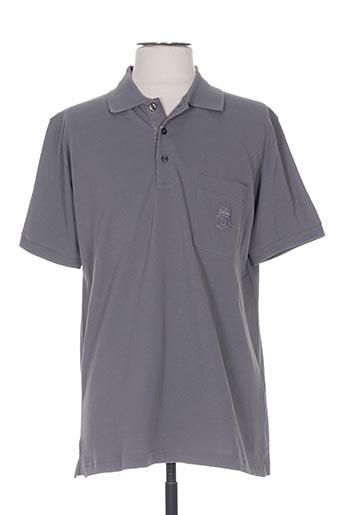 benny les hommes t-shirts homme de couleur gris