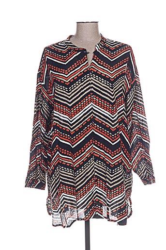 masai chemises femme de couleur noir