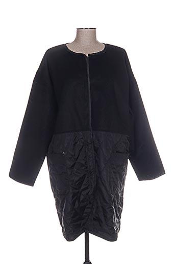 masai manteaux femme de couleur noir