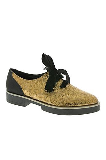 kontessa chaussures femme de couleur marron
