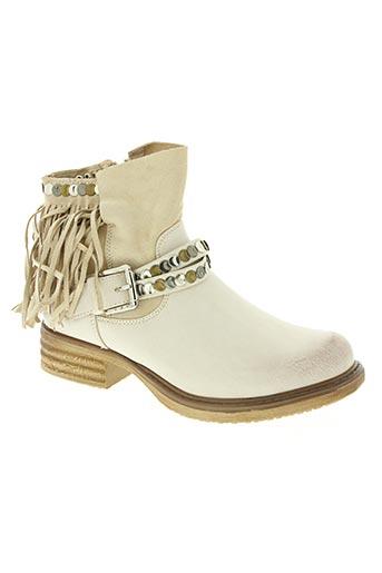 forever folie chaussures femme de couleur beige