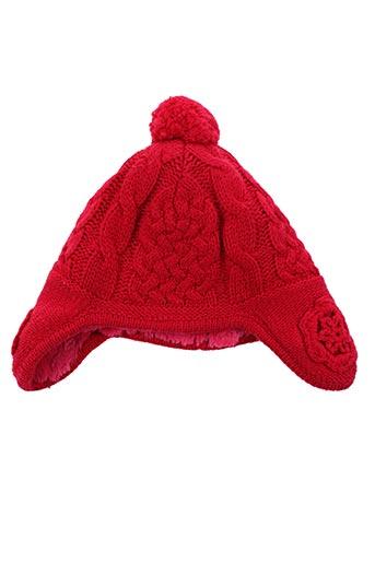 Bonnet rouge ABSORBA pour fille