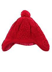 Bonnet rouge ABSORBA pour fille seconde vue