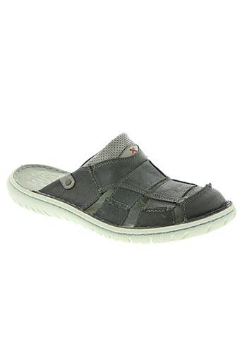mustang chaussures homme de couleur gris