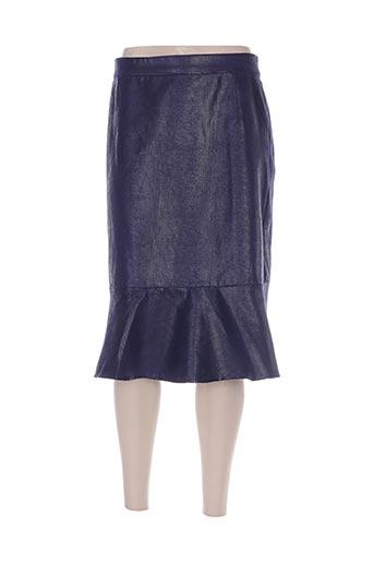 Jupe mi-longue violet DIANE LAURY pour femme