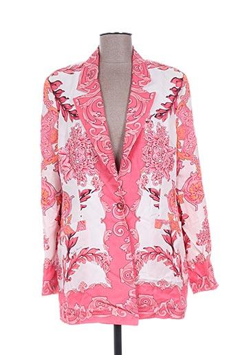 angelo marani vestes femme de couleur rose