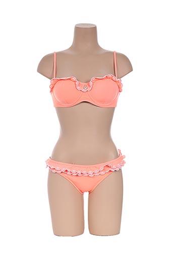 seafolly maillots de bain femme de couleur orange