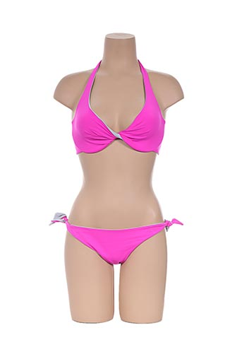 acqua et sale maillots de bain femme de couleur rose