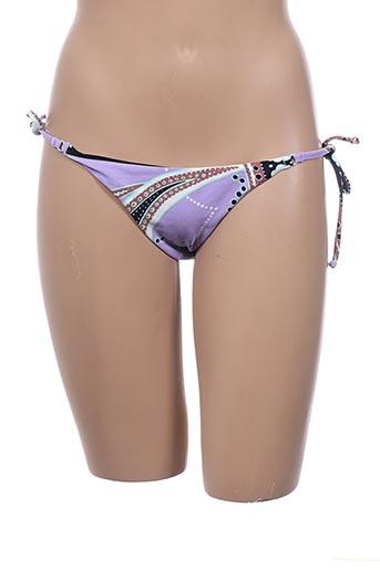 Bas de maillot de bain violet DOMANI pour femme