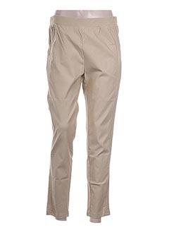 Pantalon 7/8 beige H-3 pour femme