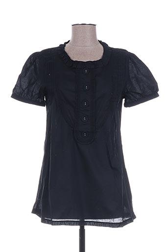 dixit chemises femme de couleur noir