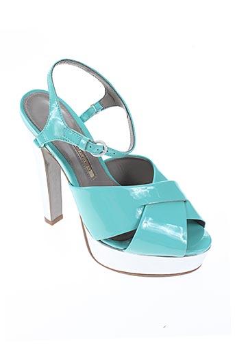 buffalo chaussures femme de couleur bleu