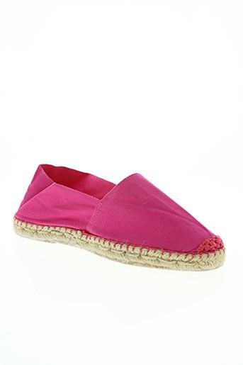 la maison de l'espadrille chaussures femme de couleur rose