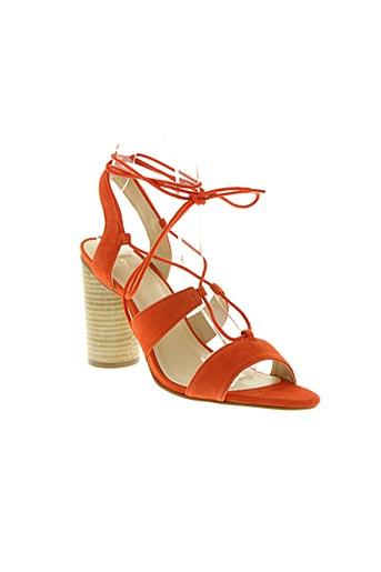 mellow yellow chaussures femme de couleur orange