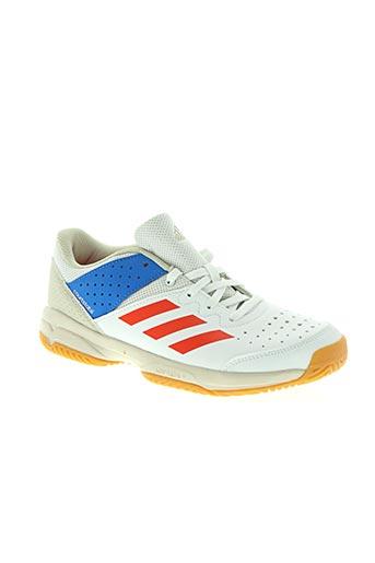 adidas chaussures garçon de couleur blanc