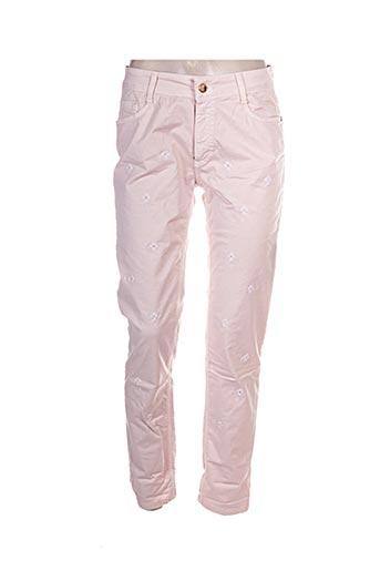 Pantalon casual rose ANNA RACHELE pour femme