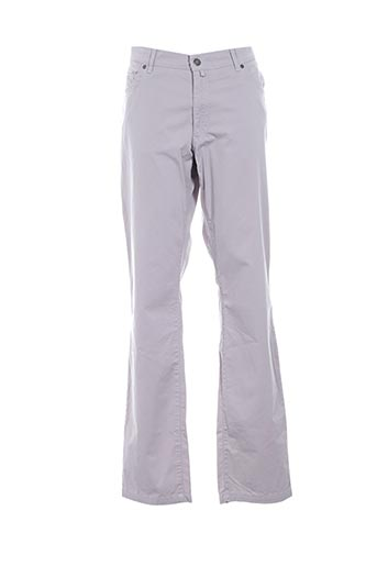 Pantalon casual gris GIANNI pour homme