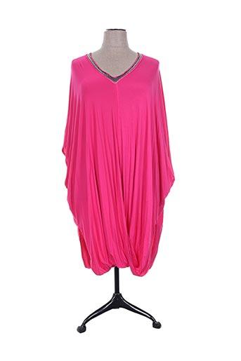 edmond boublil tuniques femme de couleur rose