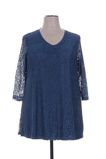 ciso tuniques femme de couleur bleu