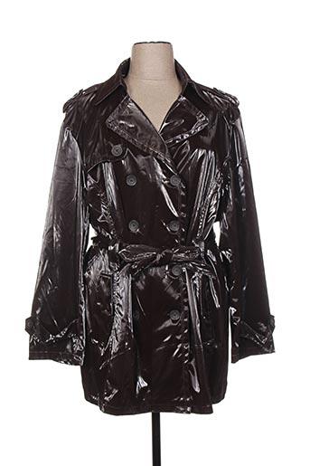 nana belle manteaux femme de couleur marron