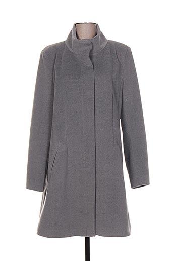 pregio couture manteaux femme de couleur gris