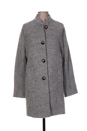 river woods manteaux femme de couleur gris
